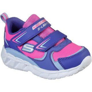Pantofi sport copii SKECHERS MAGNA-LIGHTS – GOAL ACHIEVER (302093N-PRHP)