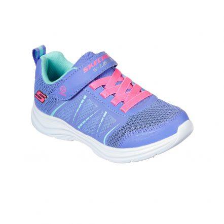Pantofi sport copii SKECHERS GLIMMER KICKS -SHIMMY BRIGHTS (302302L-PERI)