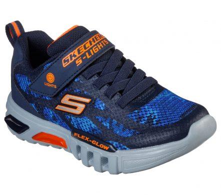 Pantofi sport copii SKECHERS FLEX-GLOW – RONDLER (400017L-NVOR)