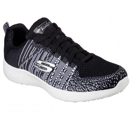 Pantofi sport barbati SKECHERS BURST – IN THE MIX (52107-BKW)