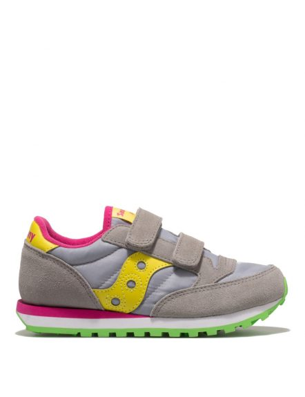 Pantofi sport copii SAUCONY JAZZ DOUBLE HL GREY/YELLOW (SK159623)