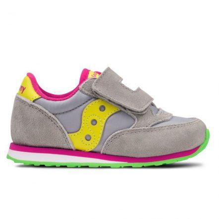 Pantofi sport copii SAUCONY BABY JAZZ HL GREY/YELLOW (SL159642)